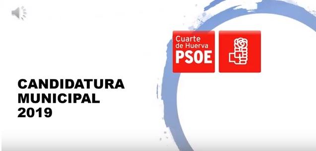 Candidatura del PSOE al Ayuntamiento de Cuarte de Huerva ...